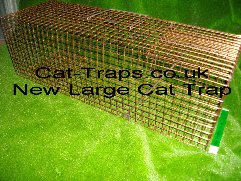 NEW large cat trap